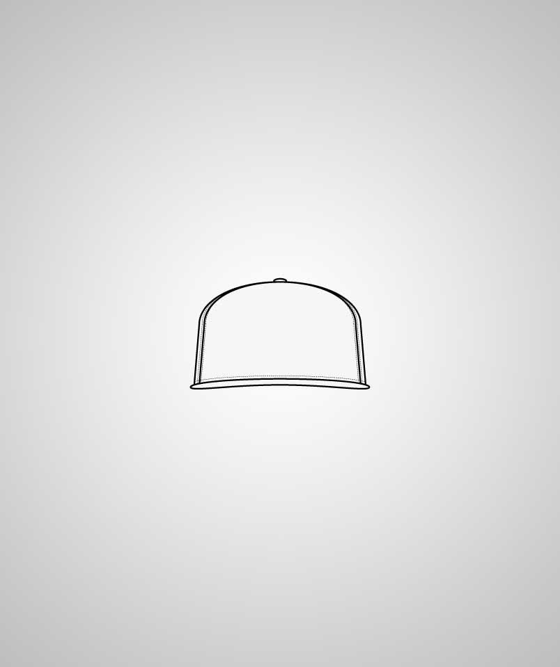 Baseball Cap Flexfit mit 3D Stick
