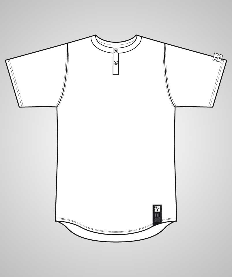 Unisex Trikot 2 Button Mesh