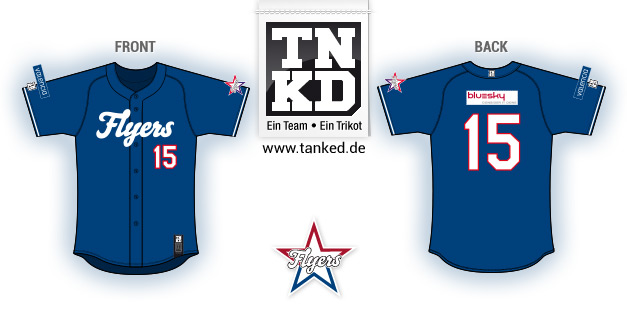 Therwil Flyers (Baseball) - Jersey Pop-Up  von TANKED