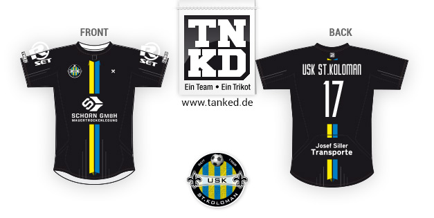 USK St. Koloman (Fußball) - Jersey Pop-Up  von TANKED