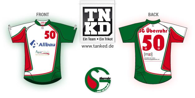 SG Überruhr (Handball) - Jersey Pop-Up  von TANKED