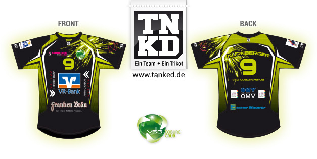 Coburg Grub (Volleyball) - Jersey Pop-Up  von TANKED