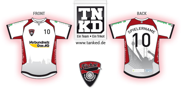 SG Ratingen Düsseldorf (Volleyball) - Jersey Pop-Up  von TANKED