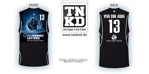 Viva Con Acua (Basket-ball) - Jersey Home  par TANKED