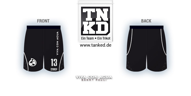 Viva Con Acua (Basketball) - Shorts Home  von TANKED