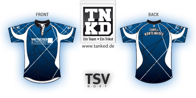 TSV Norf (Badminton) - Jersey Pop-Up  von TANKED
