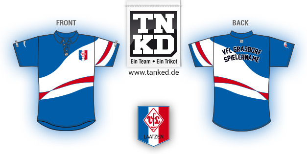 Vfl Grasdorf (Badminton) - Jersey Pop-Up  von TANKED