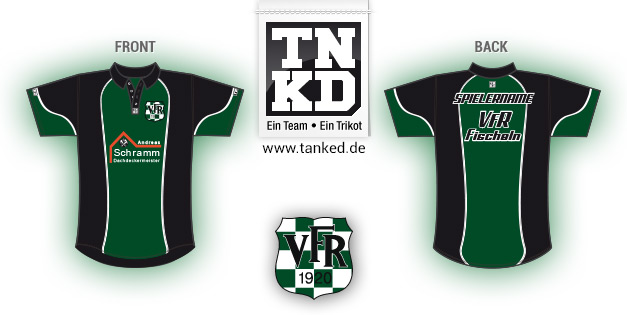 VFR Fischeln (Badminton) - Jersey Pop-Up  von TANKED
