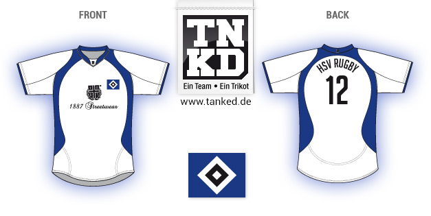 HSV (Rugby) - Jersey Pop-Up  von TANKED
