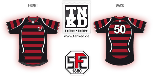 SFV 1880 Frankfurt (Rugby) - Jersey Pop-Up  von TANKED