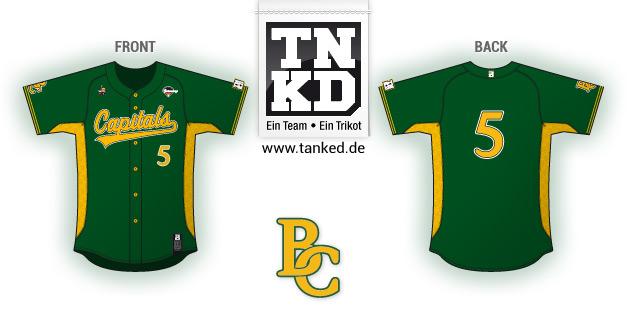 BC Bonn Capitals (Baseball) - Jersey Home  von TANKED