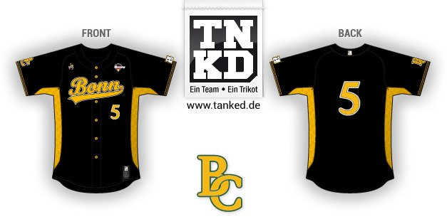 BC Bonn Capitals (Baseball) - Jersey Away  von TANKED