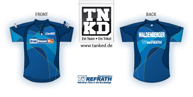 TV Refrath (Badminton) - Jersey Men  von TANKED