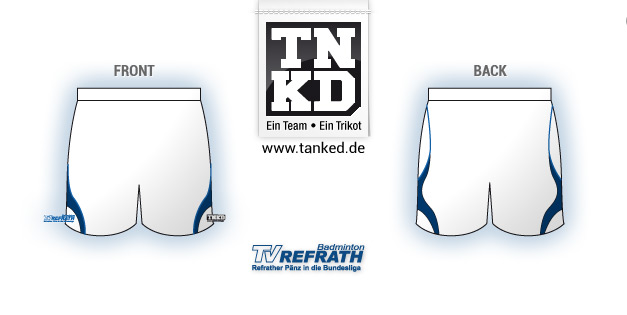 TV Refrath (Badminton) - Shorts Men  von TANKED