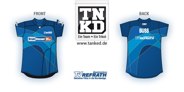 TV Refrath (Badminton) - Jersey Women  von TANKED