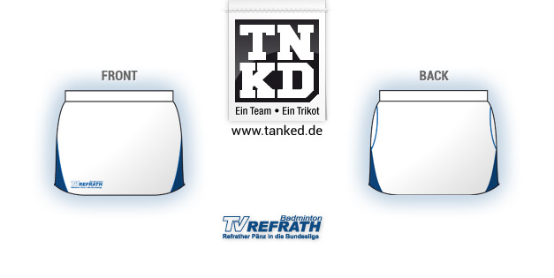 TV Refrath (Badminton) - Shorts Women  von TANKED