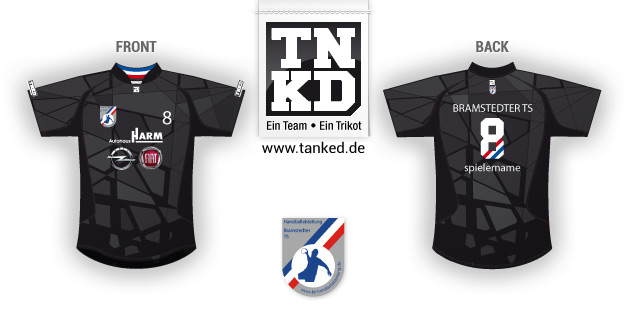 Bramstedter TS (Handball) - Jersey Home  von TANKED