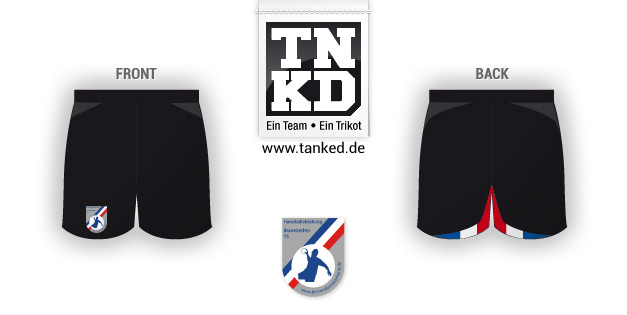 Bramstedter TS (Handball) - Shorts Home  von TANKED