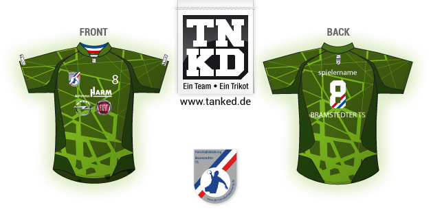 Bramstedter TS (Handball) - Jersey Home Keeper  von TANKED