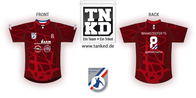 Bramstedter TS (Handball) - Jersey Away  von TANKED