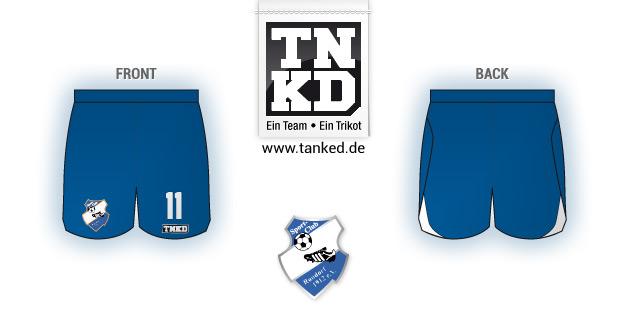 SC Rondorf (Fußball) - Shorts Away  von TANKED