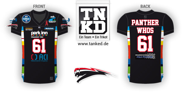 Düsseldorf Panther (American Football) - Jersey Home  von TANKED