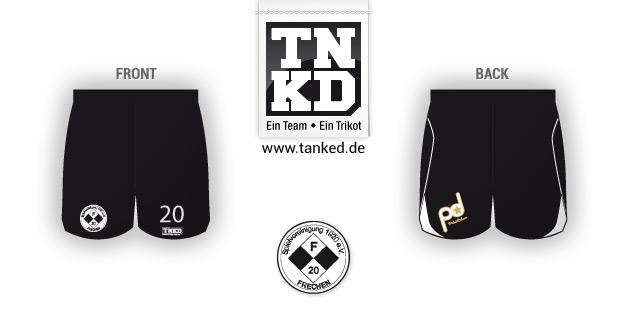 SPVG Frechen (Fußball) - Shorts Home  von TANKED