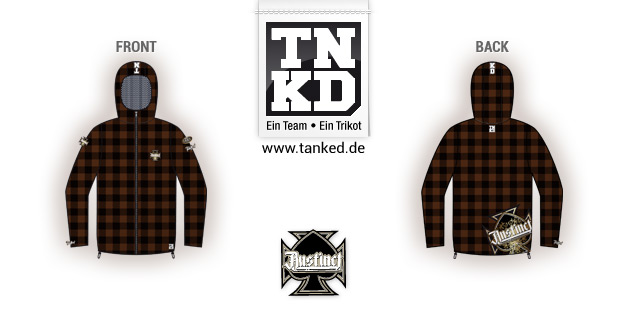 Rammstein Instinct (Paintball) - Softshell Away  von TANKED