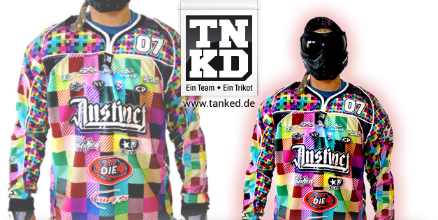 Rammstein Instinct (Paintball) - Jersey Home  von TANKED