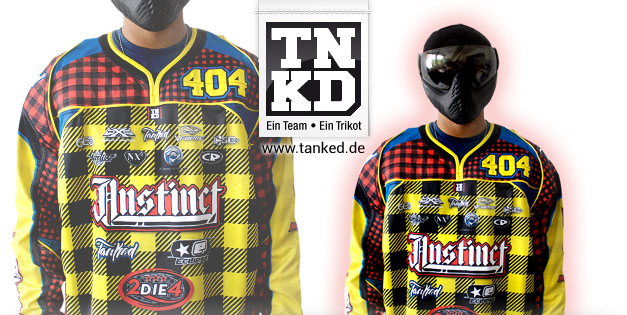 Rammstein Instinct (Paintball) - Jersey Away  von TANKED