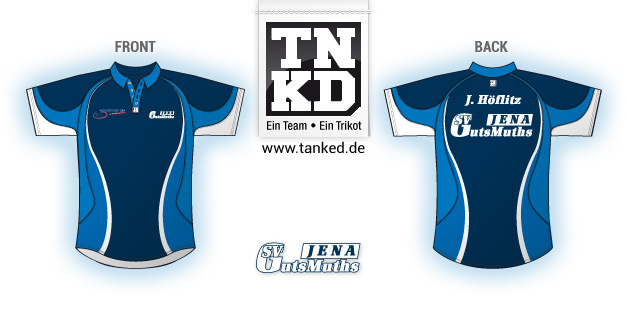 SV GutsMuths (Badminton) - Jersey Men  von TANKED
