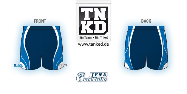 SV GutsMuths (Badminton) - Shorts Men  von TANKED