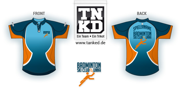 Ski-Club Unna (Badminton) - Jersey Men  von TANKED
