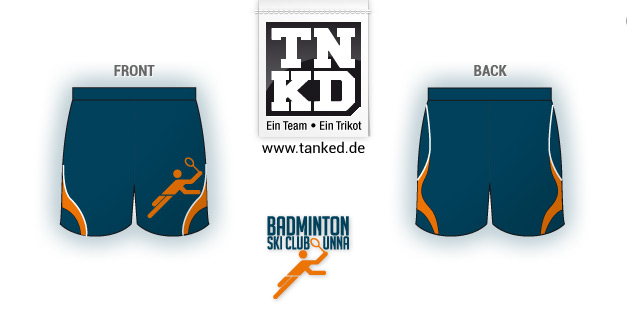 Ski-Club Unna (Badminton) - Shorts Men  von TANKED