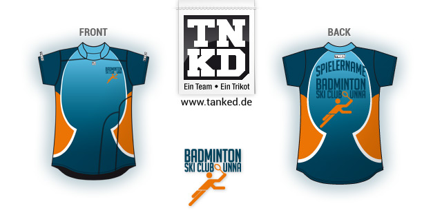 Ski-Club Unna (Badminton) - Jersey Women  von TANKED