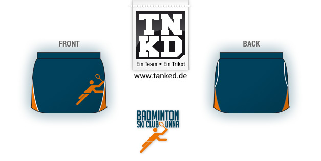 Ski-Club Unna (Badminton) - Shorts Women  von TANKED