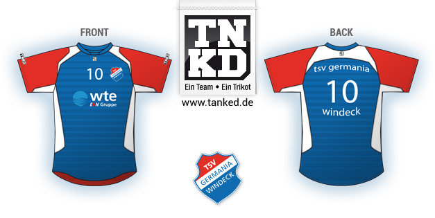 TSV Germania Windeck (Volleyball) - Jersey Home  von TANKED