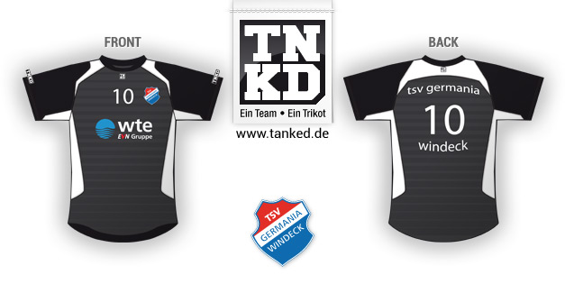 TSV Germania Windeck (Volleyball) - Jersey Away  von TANKED