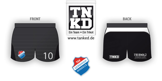 TSV Germania Windeck (Volleyball) - Shorts Away  von TANKED