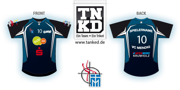 VC Mendig (Volleyball) - Jersey Home  von TANKED