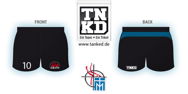VC Mendig (Volleyball) - Shorts Home  von TANKED