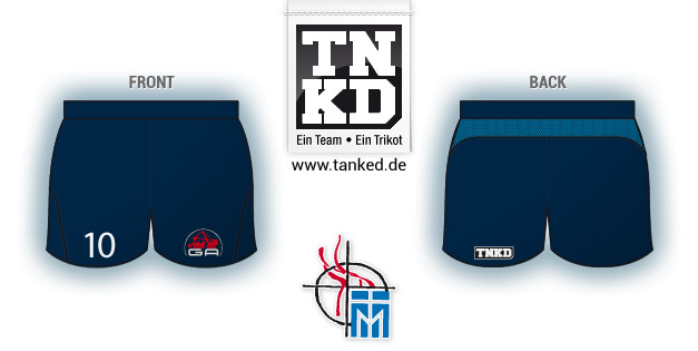 VC Mendig (Volleyball) - Shorts Away  von TANKED