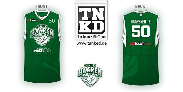 Aachen Haaren (Basketball) - Jersey Home  von TANKED