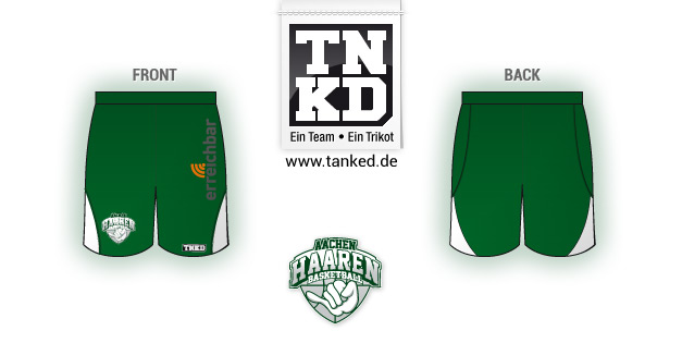 Aachen Haaren (Basket-ball) - Shorts Home  par TANKED