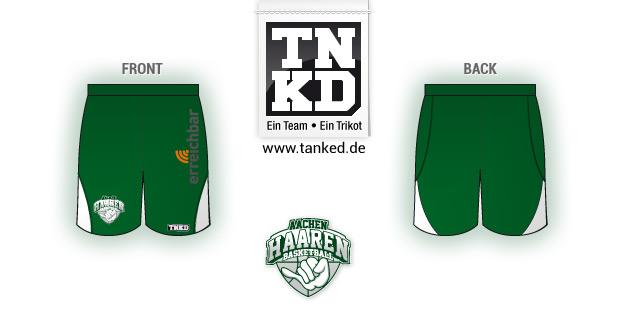 Aachen Haaren (Basketball) - Shorts Home  von TANKED