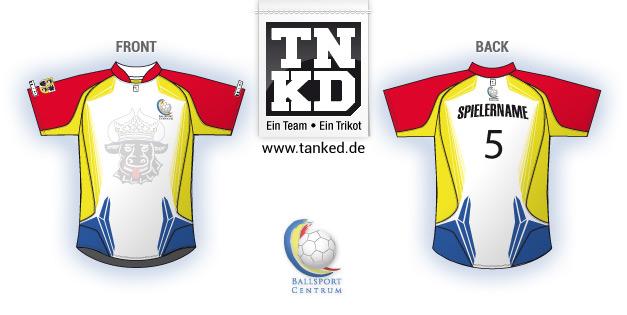 Ballsport Centrum (Handball) - Jersey Home  von TANKED