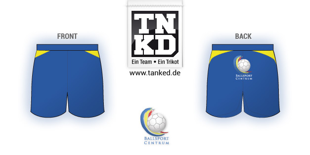 Ballsport Centrum (Handball) - Shorts Home  von TANKED