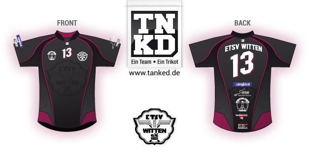 ETSV Witten (Handball) - Jersey Home  von TANKED