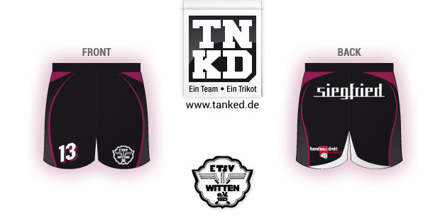 ETSV Witten (Handball) - Shorts Home  von TANKED