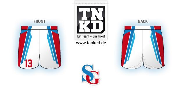 HSG Langgöns (Handball) - Shorts Home  par TANKED